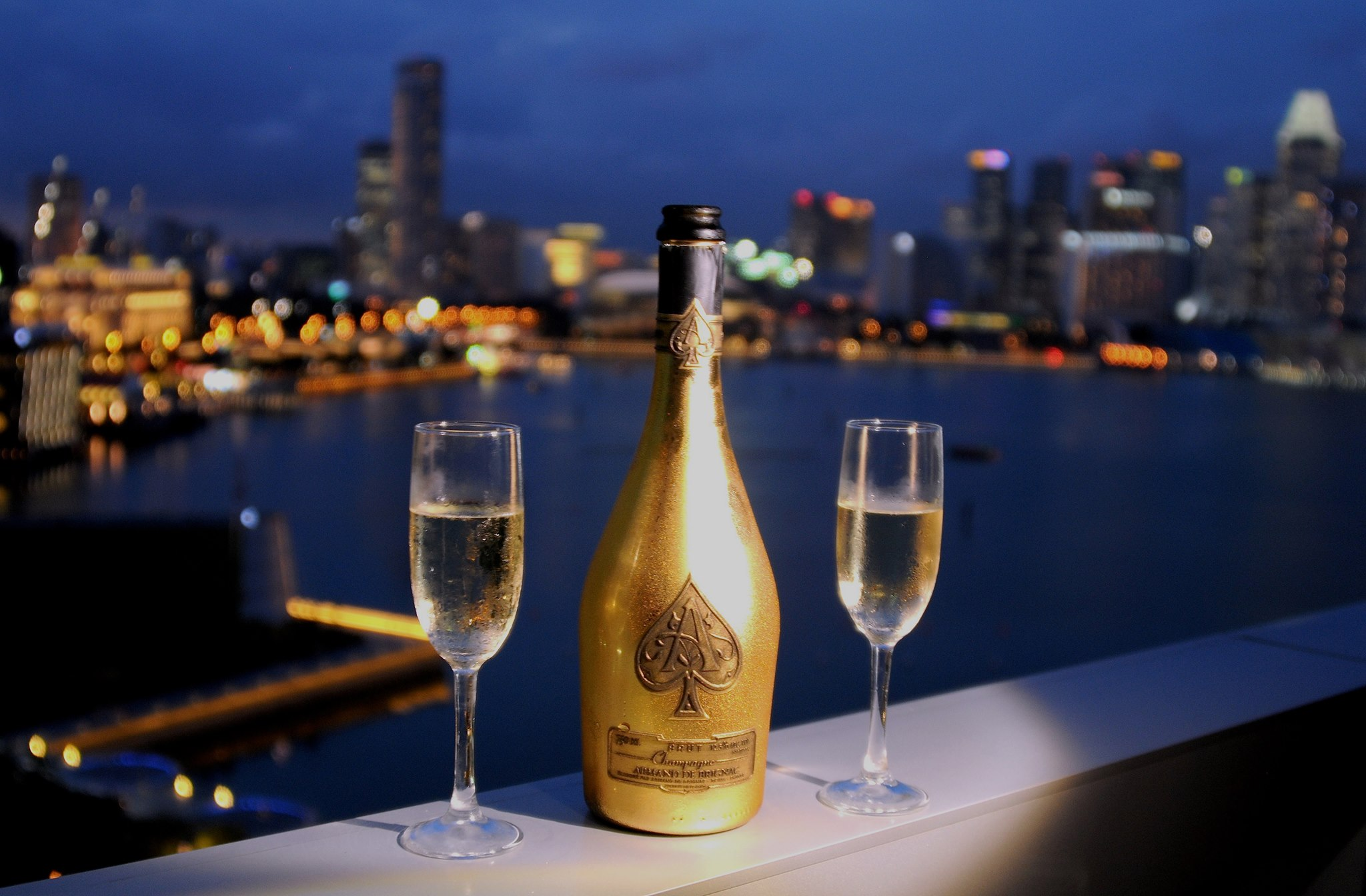 Someone Buys Php7 Million Champagne Bottle During New Year