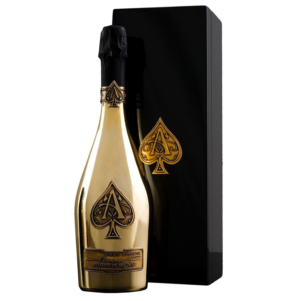 Armand De Brignac – Ace of Spades Brut NV Champagne is a legend in the bottle